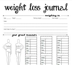 Free Printable Weight Loss Journal | Serenity You: Seasons of Homemakers {Sponsor Spotlight}