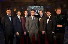 Chester Barrie AW16 presentation at London Collections Men starring David Gandy