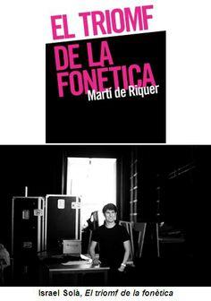 """Lectura dramàtica d'""""El triomf de la fonètica"""", de Martí de Riquer, al TNC (9, 10 i 11/05/2014)"""