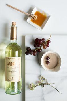 Friday Facial: Wrinkle-Smoothing Wine Face Mask | http://helloglow.co/friday-facial-wrinkle-smoothing-wine-face-mask/