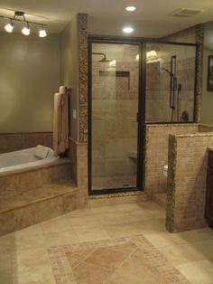 Fancy bathroom upgrade