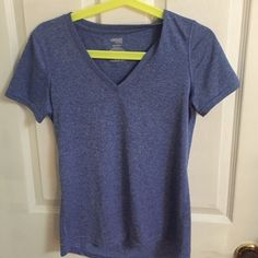 Danskin Now Dri More shirt Great for working out just too small for me, NWOT, never worn. Cute blue and white color. Very stretchy  Danskin Tops Tees - Short Sleeve