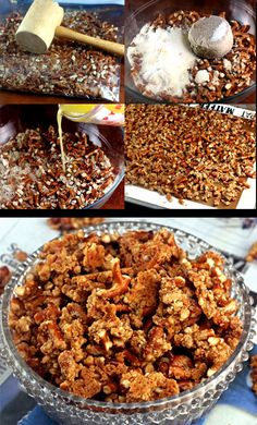 Malted Pretzel Crunch. People go so nuts for it that I have to make 5 or more pans on football Sundays! Try it drizzled with chocolate, too!