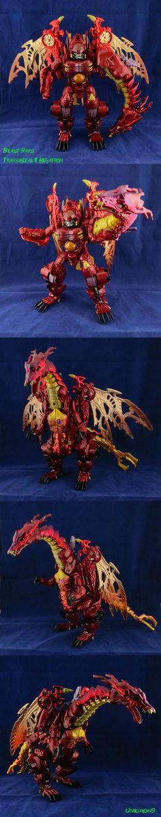 Beast Wars Transmetal II Megatron by Unicron9 on DeviantArt