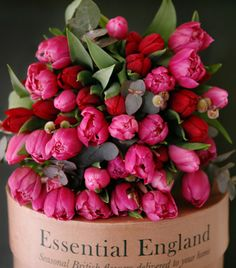 British Bouquets - A magnificent hand tied bouquet of British blooms