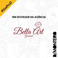 A Bella Art Gourmet agora é cliente #DMONTEIRO! #BemVindos #Welcome
