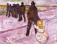 Intercepted by Gravitation | Edvard Munch