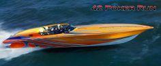 New 2013 - Fountain Boats - 42 Poker Run