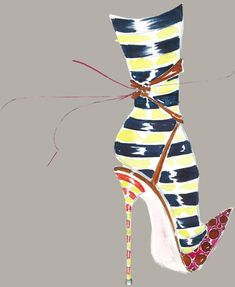 There is something magical about Manolo Blahnik that actually makes me stop being sad, almost immediately.