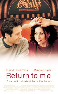 Return to Me (2000) Megan Dayton: 'Yeah, well, I married a first date, missy, and you know how it is. You're out with a guy, you find him attractive, and suddenly everything he says sounds brilliant. Hairy legs are your only link to reality.'