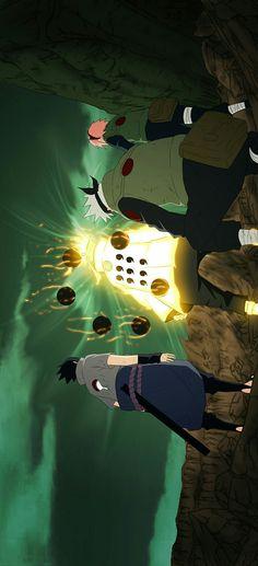 Anime Naruto, Naruto Fan Art, Naruto Shippuden Sasuke, Naruto Kakashi, Otaku Anime, Naruto Team 7, Animes Wallpapers, Cute Wallpapers, Wallpaper Pc Anime