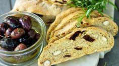 Oliven-Nuss-Brot