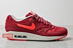 Nike Air Max 1 Premium - Team Red / Jacquard