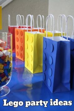 Lego party ideas - my boy is too old, but he would of LOVED this!