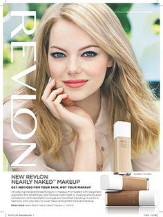 Twitter Followers: Enter to Win a Signed Emma Stone Revlon Ad – and All the Products In It!