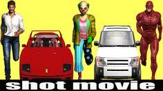 Joker Stole Super Hero's Cars & Super Hero's Started Invading The Robber...