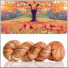 "393 Likes, 10 Comments - Expression Fiber Arts (@expressionfiberarts) on Instagram: ""My dears, our latest Flower of the Month colorway is HERE and it just screams ""everything fall!""…"""