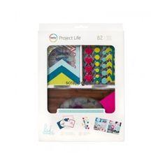 Becky Higgins | Project Life value kit: Heidi Swapp Bright overlay kit | Scrapdelight Scrapbookwinkel
