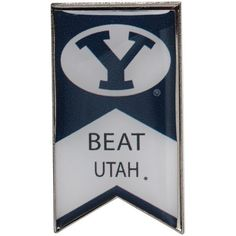 BYU Cougars Beat Utah Rivalry Banner Pin - $6.99
