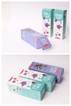#삼부키즈 #비타민패키지 #모아패키지 #박스 #고급박스 #패키지 #박스제작 #박스디자인 Kids Packaging, Cosmetic Packaging, Brand Packaging, Label Design, Box Design, Branding Design, Medicine Packaging, Packaging Design Inspiration, Medicine