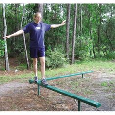 Southern Recreation offers interactive outdoor fitness equipment, perfect for any park or amenity center. Outdoor Fitness Equipment, No Equipment Workout, Balance Beam, Jacksonville Florida, Outdoor Workouts, Exercise, Beams, Southern, Ejercicio