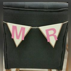 Mr & Mrs - Flag Banner with twine by IttyBittyBoutik on Etsy