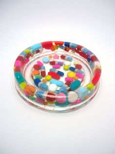 Imperfect Resin Coaster Real Pills Medication by TheQuietRiot