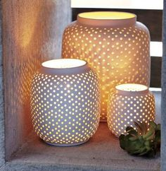 Lanterns, now that I have finally discovered flame-less candles I think I must have a lantern!