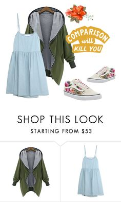 """""""Untitled #205"""" by nika-hp ❤ liked on Polyvore featuring The Great and Vans"""