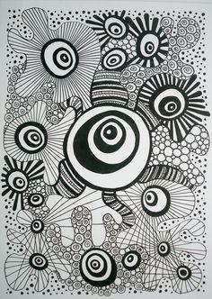 zentangle A5 4/4/10 | by kellynowellies