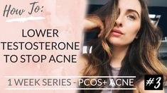 We are at DAY 3 of my PCOS + ACNE SERIES! Today is all about how to lower your testosterone levels. Hyperandrogenism (high androgens i.e testosterone) is on. Pcos, Cystic Acne Essential Oil, Insulin Resistance Diet, High Testosterone, Acne Causes, Hormonal Acne, Hormone Balancing, How To Get Rid Of Acne, Intermittent Fasting
