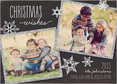 Sparkling Frame Christmas Card