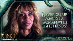 Do not cross this unfortunate soul. #Ursula's story is coming Sunday to Once Upon A Time!