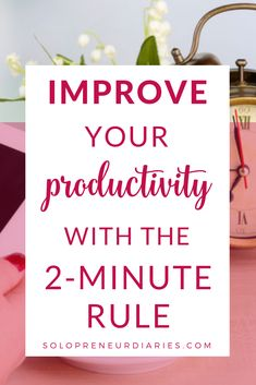 Need to get more done in your business? This productivity hack will help you beat procastination, stay focused, and accomplish all the small things you have to do to as an entrepreneur. It's one of the best time management ideas I've ever tried. Business Entrepreneur, Business Tips, Online Business, Creative Business, Productivity Hacks, Increase Productivity, Time Management Skills, Startup, All Family