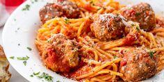Spaghetti and Meatballs Horizontal