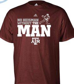 FIRST LOOK: Johnny Manziel Heisman Shirt