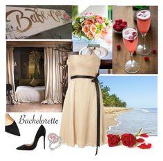 """babe bachelorette"" by theworldisatourfeet ❤ liked on Polyvore featuring Christian Louboutin, Bachelorette and polyvoreeditorial"