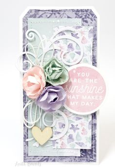 Hi.. Anita here with you today sharing a card process video. Using the very lovely mermaid tails I absolutely love creating cards theirs nothing better than giving or receiving a handmade card The …