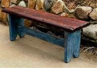 rustic barns of the old south -basic bench love the finish