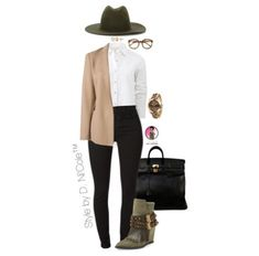 Ni'Cole inspired look. Click the link in the bio for fit details. Plus size options are available. Tan Blazer Outfits, Fashion 101, Fashion Trends, Fashion Ideas, Outfits With Hats, Weekend Outfit, Passion For Fashion, What To Wear, Style Inspiration