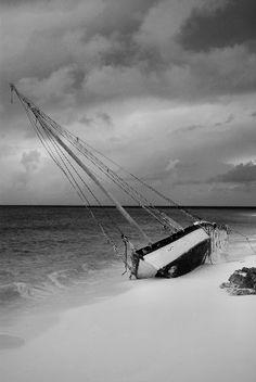 Stranded, Long Island, Bahamas