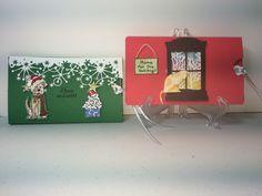 Marissa and MaKenna's Christmas cards