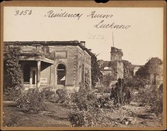 Residency Ruins. Lucknow   Francis Frith   V Search the Collections
