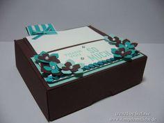 Stampin Up - Goodie - Box - Pizzabox - Verpackung - Petite Petals - Dankeschön ♥ StempelnmitLiebe