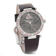 Vivienne Westwood(ヴィヴィアンウエストウッド) レディス・エナメルストラップ・ウオッチ VV006GYBK - 拡大画像  #レディース時計 #レディース時計プレゼント #レディース時計人気20代 #レディース財布 #レディース時計ブランド #レディース時計人気