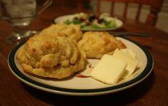 Cheesy Garlic Biscuits with Pamela's gluten free baking mix