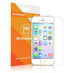 Archshield – iPhone 5S / iPhone 5C / iPhone 5 Premium High Definition (HD) Clear Screen Protector 3-Pack