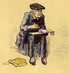 Hansi  autoportrait