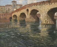 Ponte di Pietra, Verona - Frits Thaulow