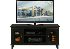 picture of North Terrace 60 in. Black Console from TV Consoles Furniture